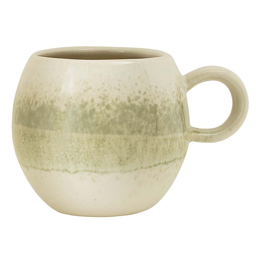 Paula mug light sandstone green Bloomingville
