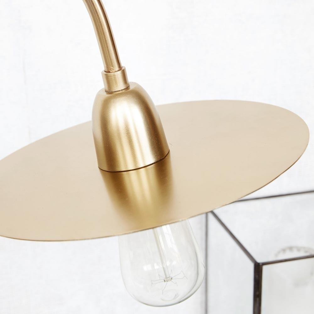 Lámpara de mesa Glow latón House Doctor
