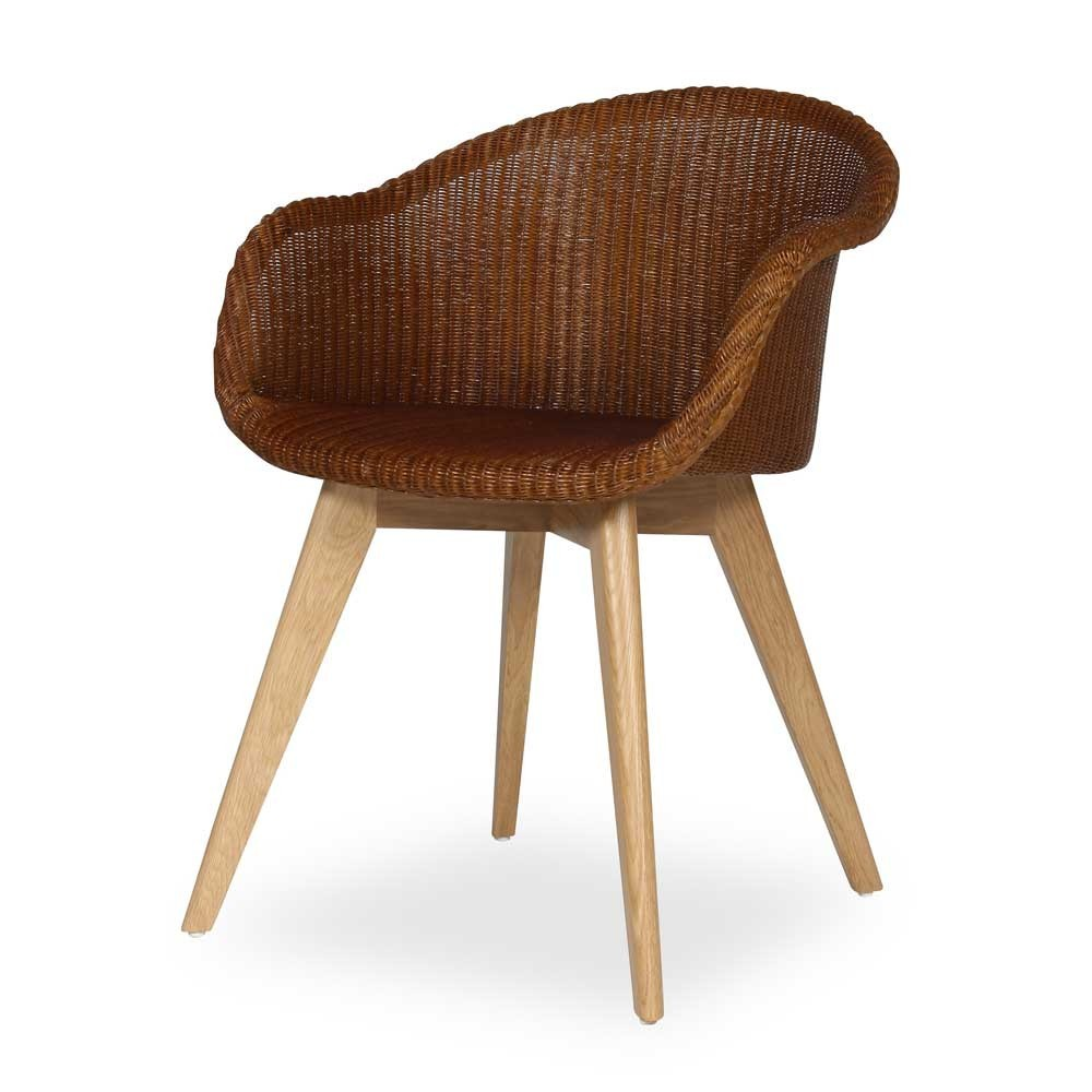 Avril dining chair oak base Vincent Sheppard