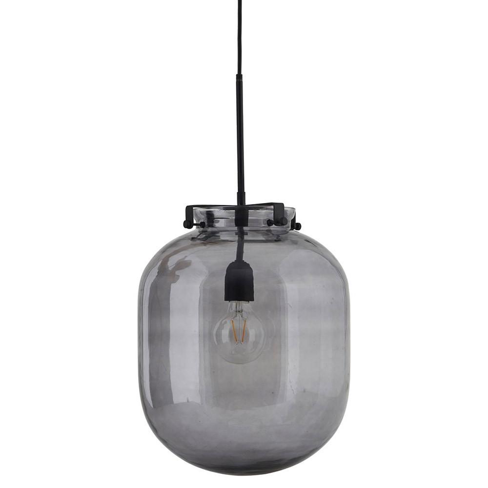 Ball hanglamp rookgrijs House Doctor