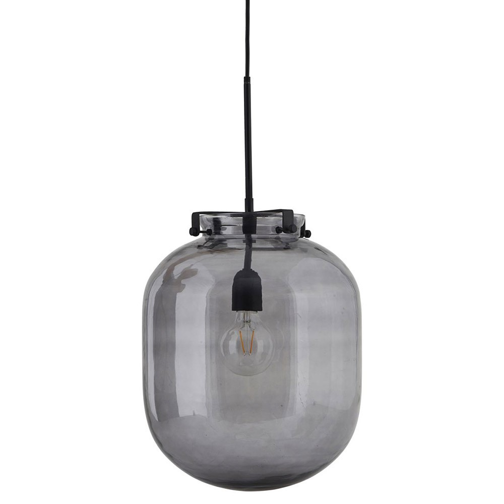 Suspension Ball gris fumé House Doctor