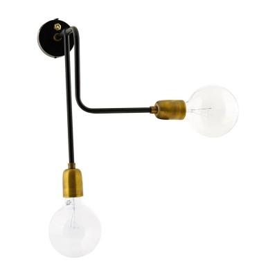 Double Molecular wandlamp House Doctor