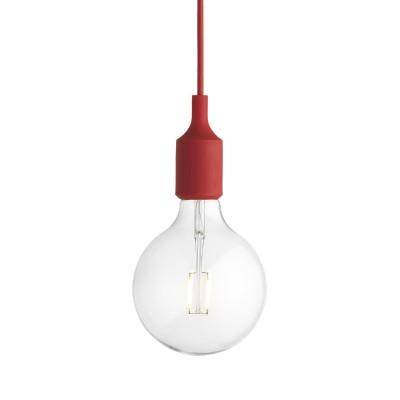 E27 pendant light red Muuto