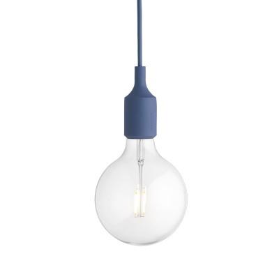 Pale blue E27 pendant light Muuto