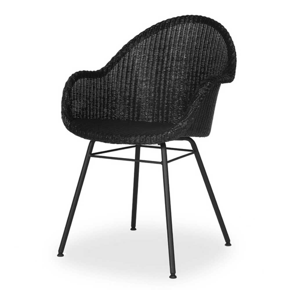 Avril HB dining chair steel A base Vincent Sheppard