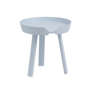 Around coffee table light blue S Muuto