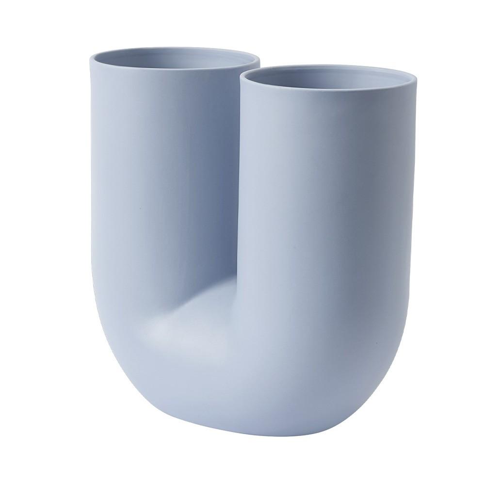 Kink vase light blue Muuto