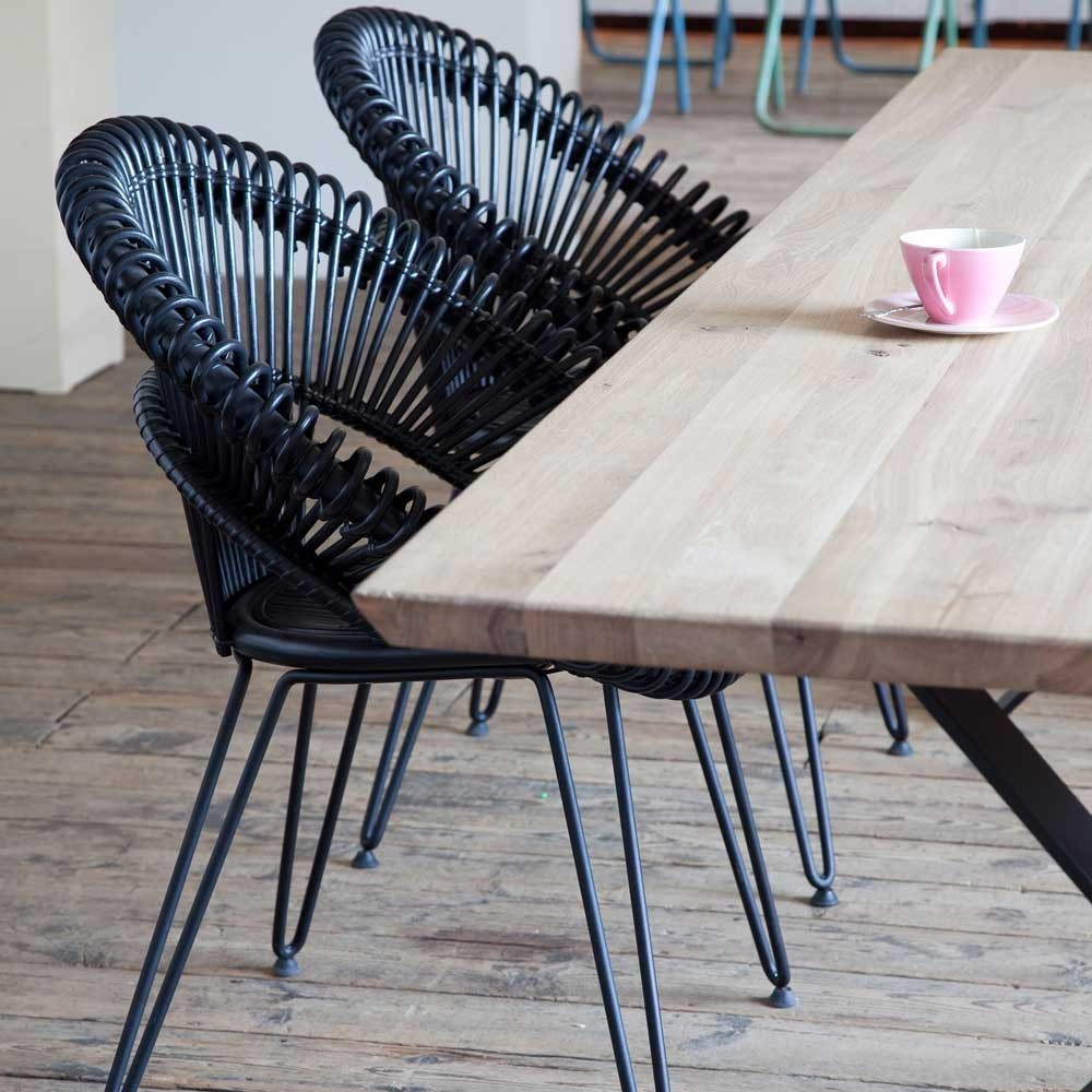 Curly black chair Vincent Sheppard
