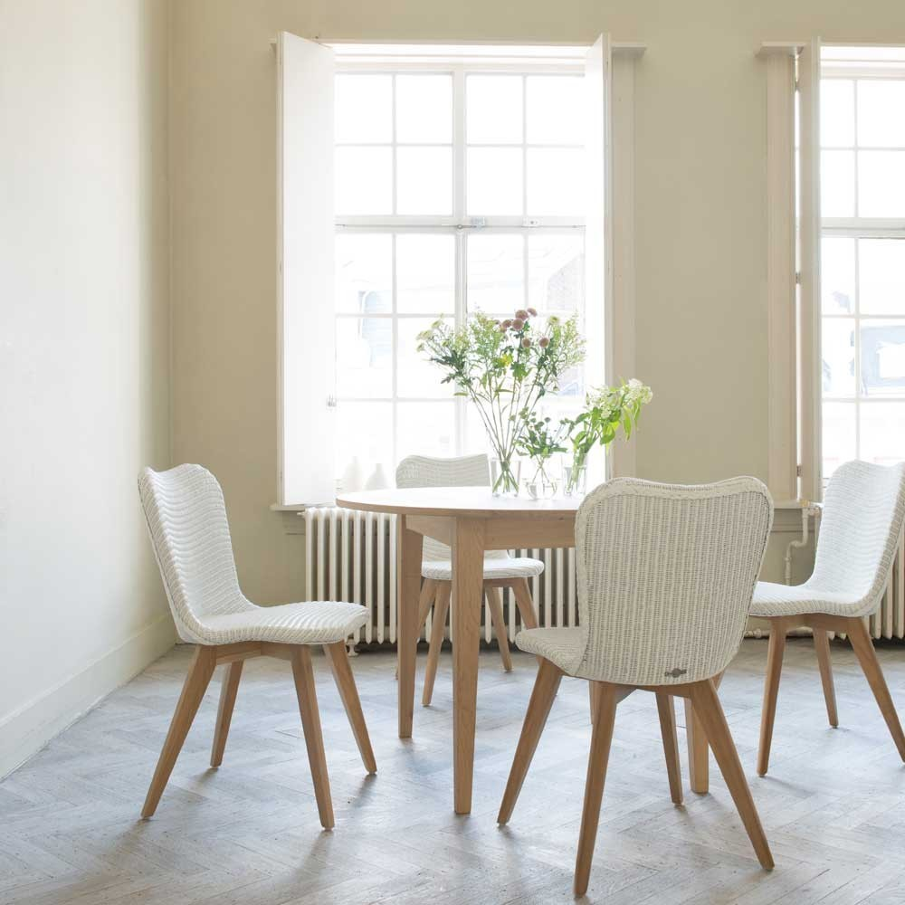 Lily dining chair oak base Vincent Sheppard
