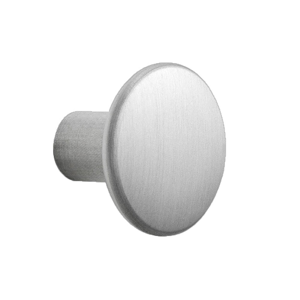 Wall hook Dots metal aluminum Muuto