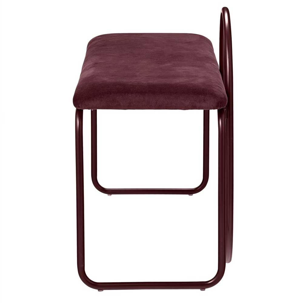 Angui bordeaux bench AYTM