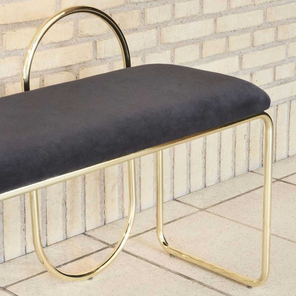 Angui anthracite & gold bench AYTM