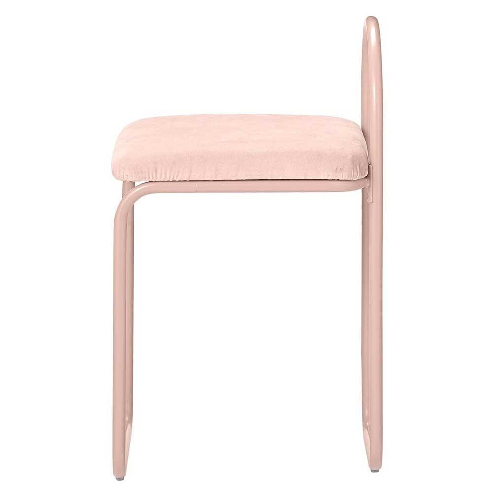 Chaise Angui rose AYTM