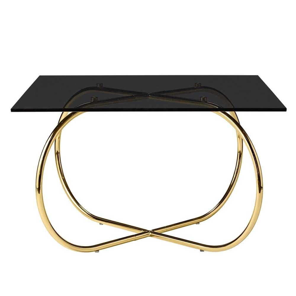 Angui black & gold coffee table AYTM