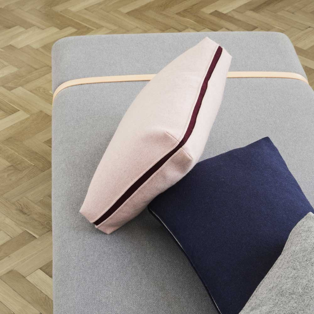 Daybed Turn laine bleu & gris clair Ferm Living