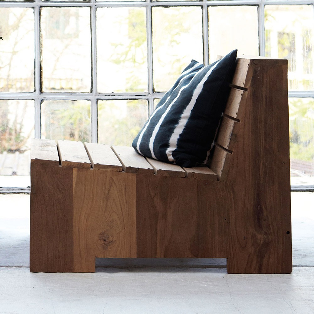 Lounge fauteuil Woodie House Doctor