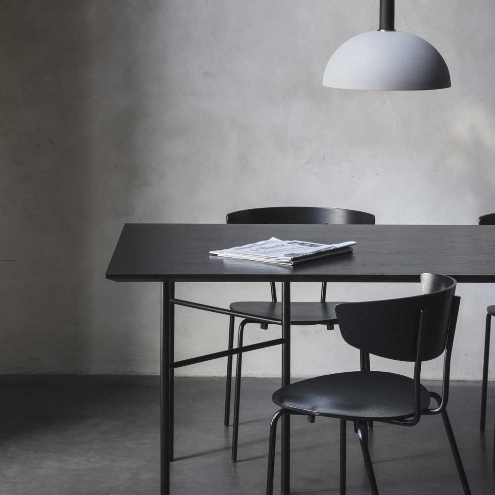 Table Mingle placage noir Ferm Living