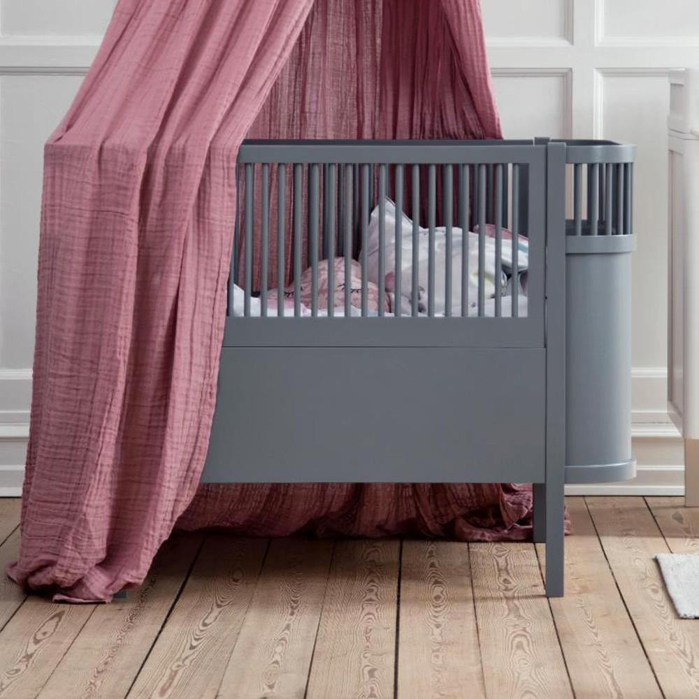 Sebra bed dark grey Sebra
