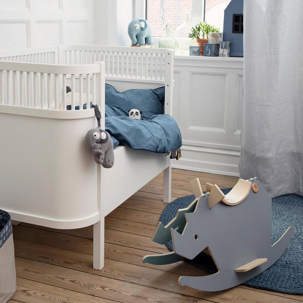 Sebra bed white Sebra