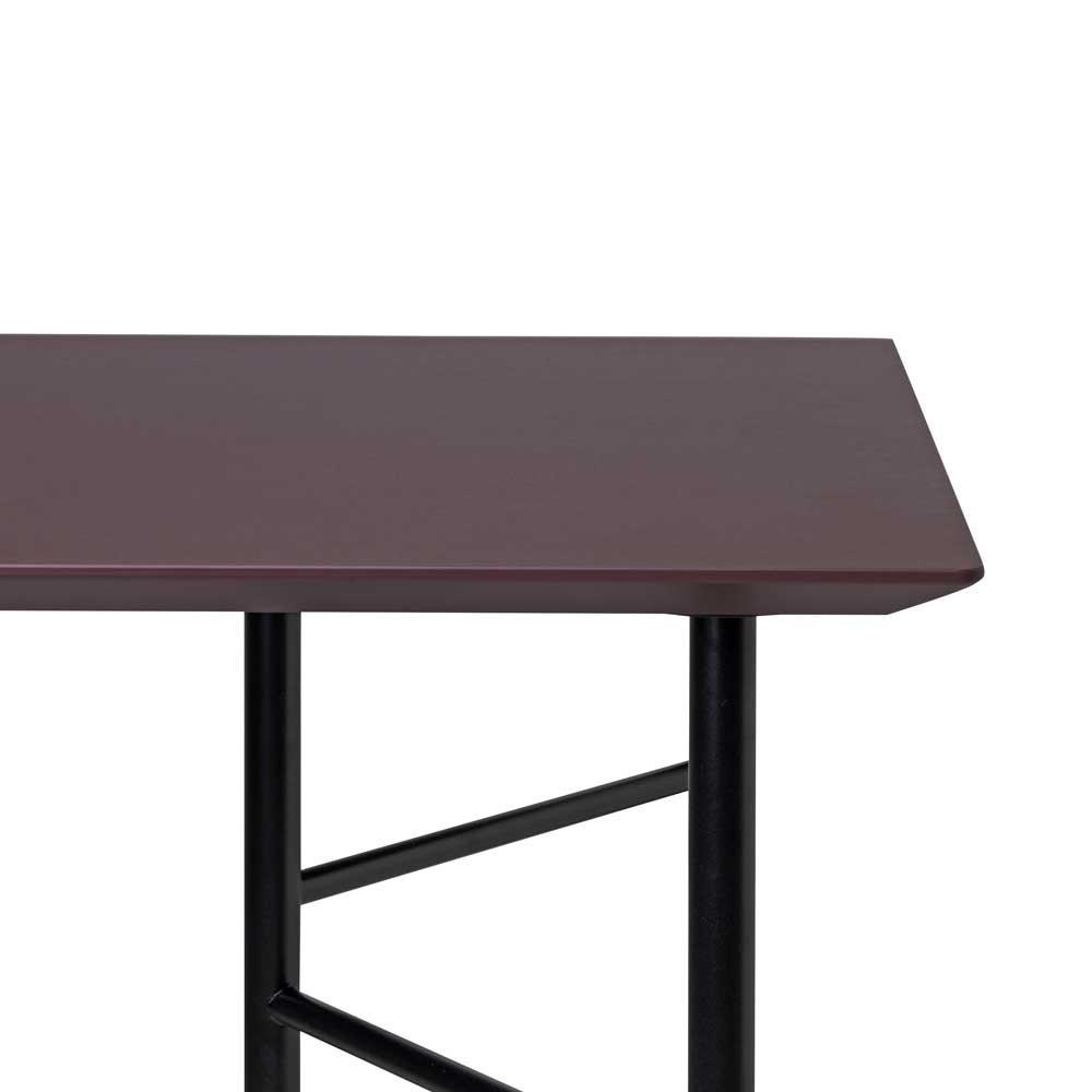 Table Mingle bordeaux Ferm Living