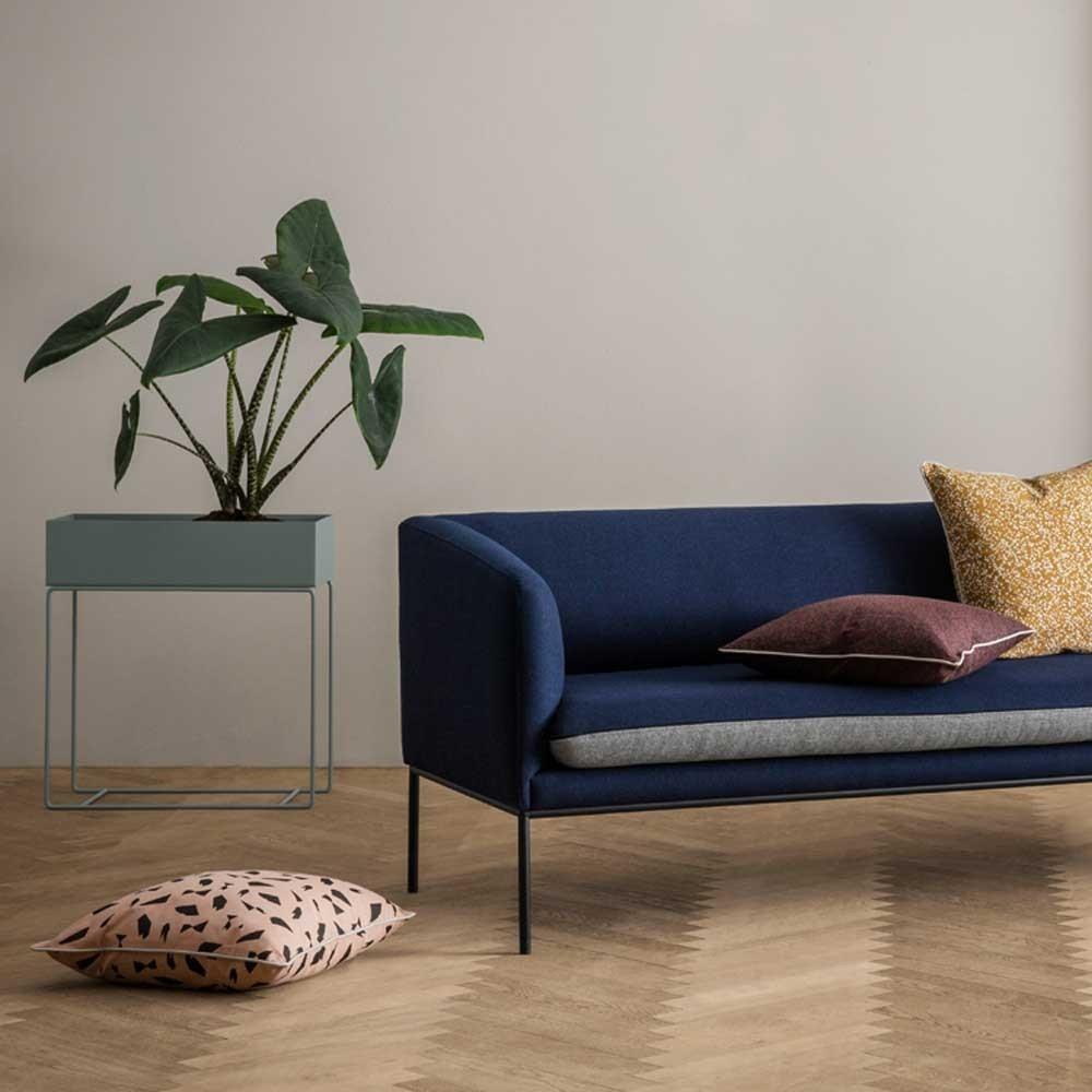 Canapé Turn laine gris clair & gris foncé Ferm Living