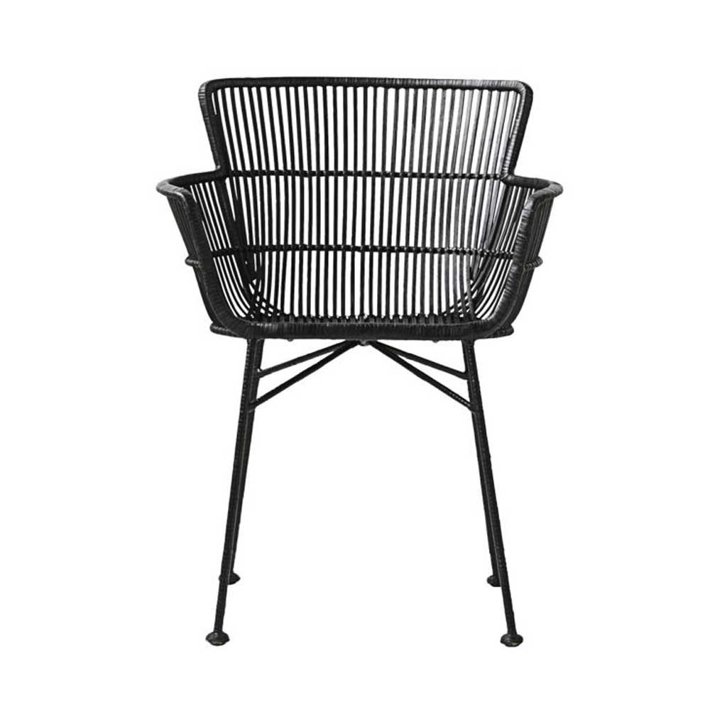 Coon dining chair black House Doctor