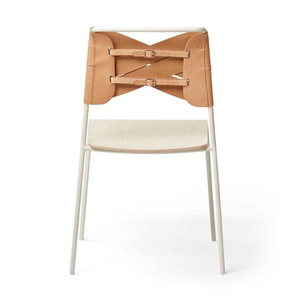 Torso chair ash & natural leather Design House Stockholm