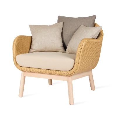 Alex lounge chair base in rovere Vincent Sheppard