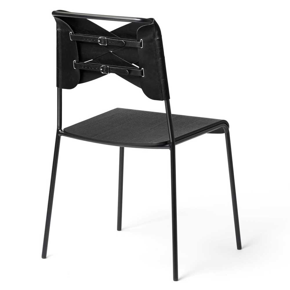 Torso stoel zwart essen & zwart Design House Stockholm