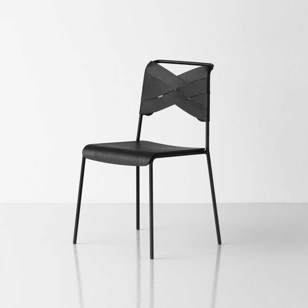 Torso chair black ash & black Design House Stockholm