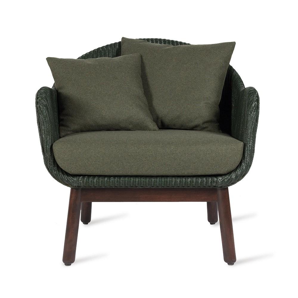 Chaise longue Alex base in legno nero Vincent Sheppard