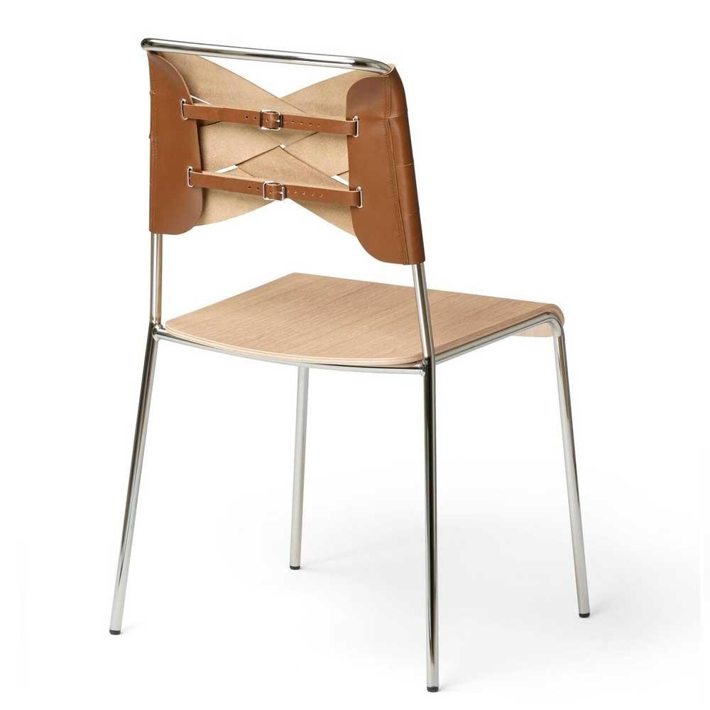 Torso stoel eiken & cognac Design House Stockholm