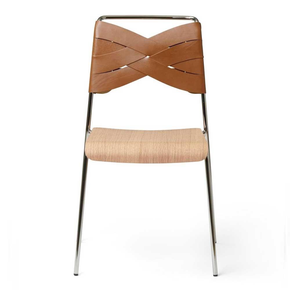 Torso chair oak & cognac Design House Stockholm