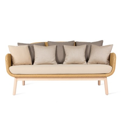 Alex lounge sofa oak base