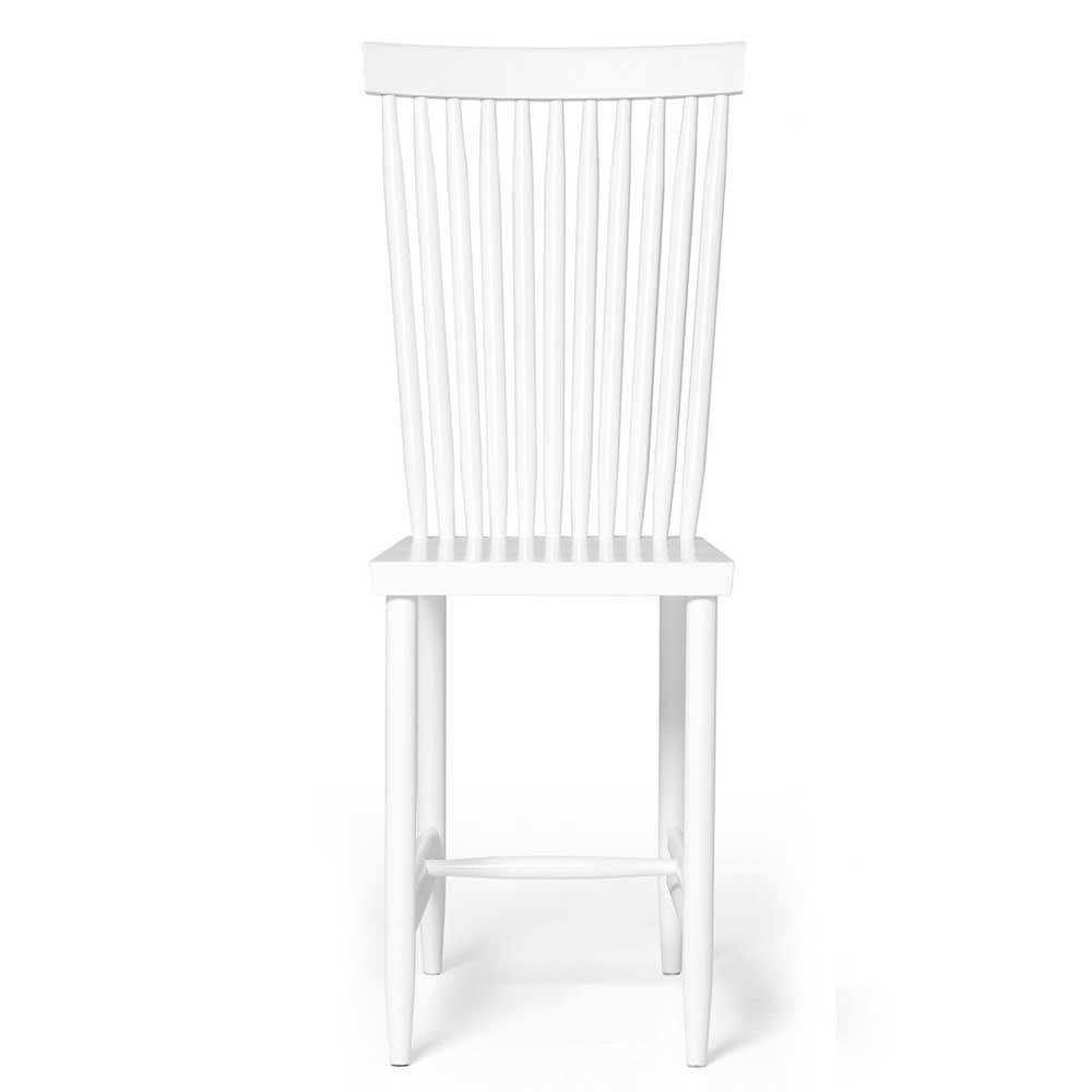 Family chair n°2 white (set of 2) Design House Stockholm