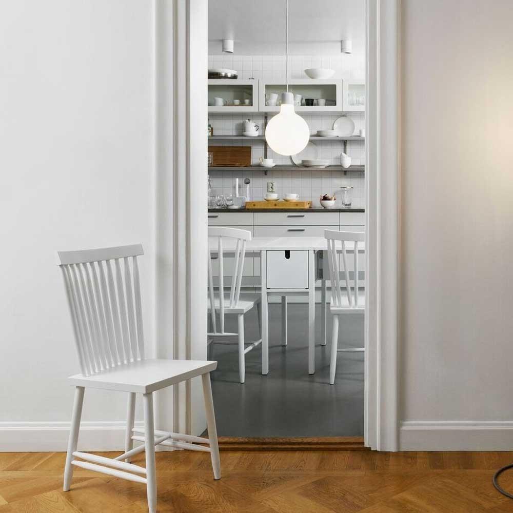 Silla familiar n ° 2 negra (juego de 2) Design House Stockholm