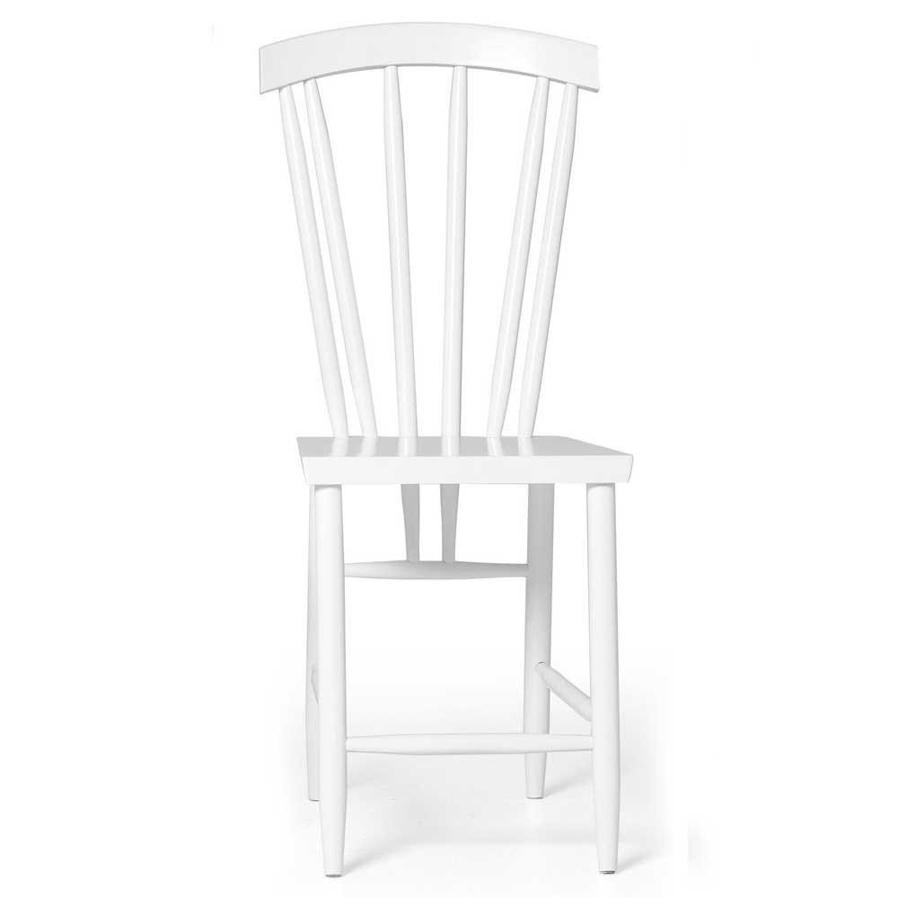 Family chair n ° 3 bianco (set di 2) Design House Stockholm