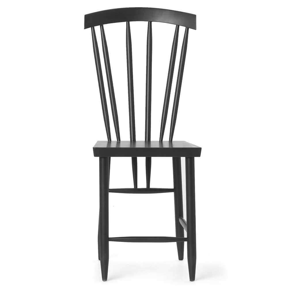 Family chair n°3 black (set of 2) Design House Stockholm