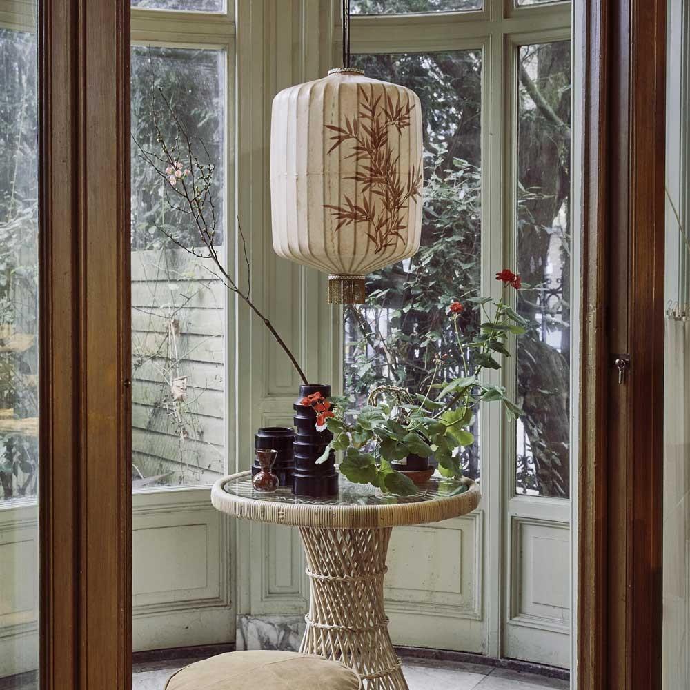 Lanterne traditionnelle XL crème HKliving