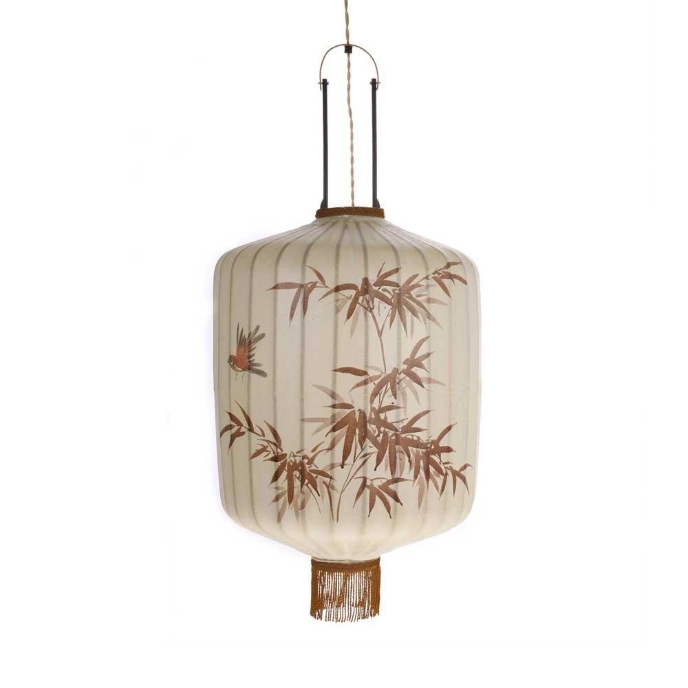 Lanterne traditionnelle L crème HKliving