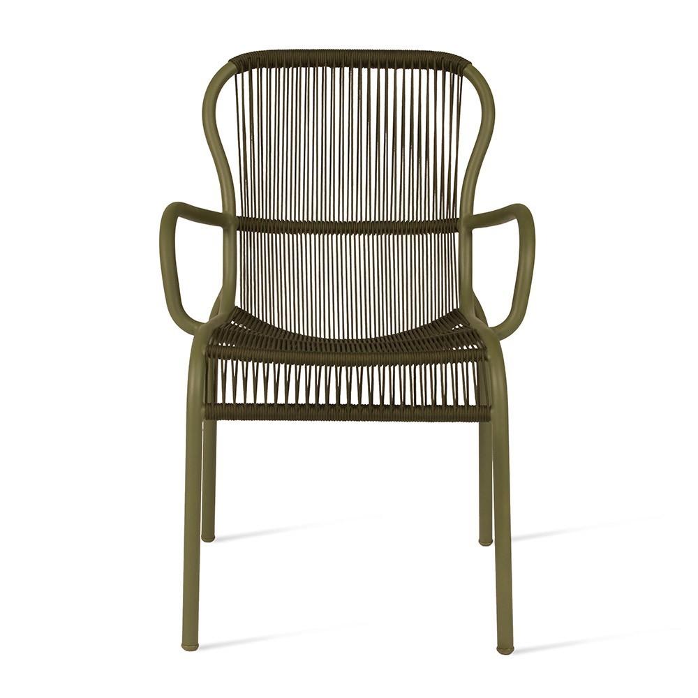 Chaise de table Loop moss Vincent Sheppard