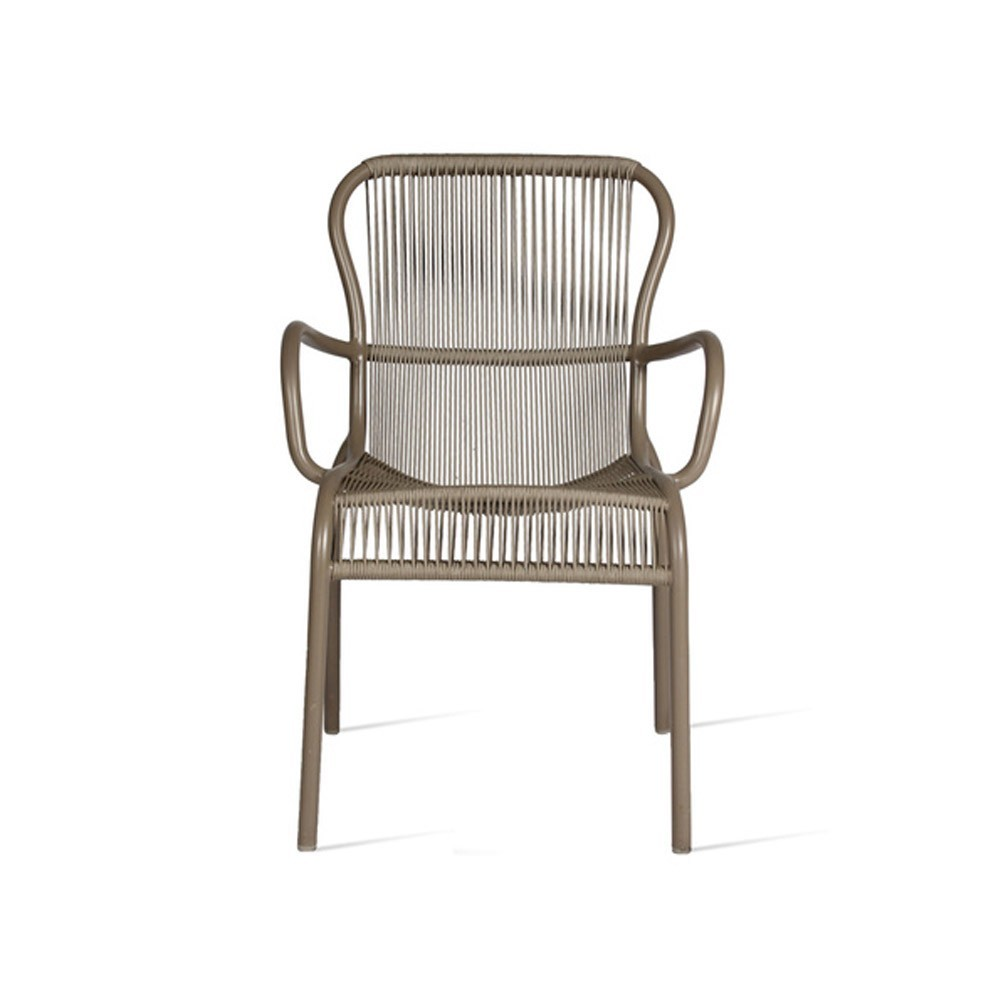 Loop dining chair taupe Vincent Sheppard