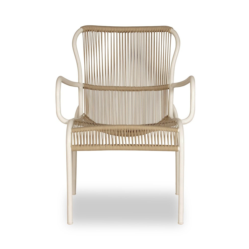 Loop dining chair beige/stone white Vincent Sheppard