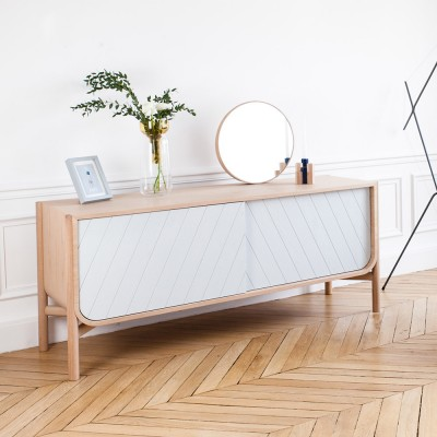 Marius sideboard light grey Hartô