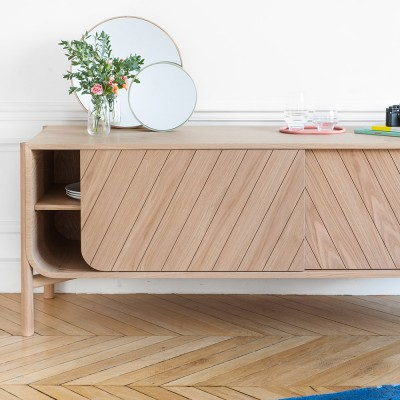 Marius sideboard natural oak Hartô