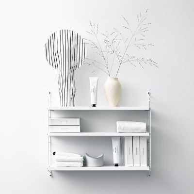 String pocket shelf white