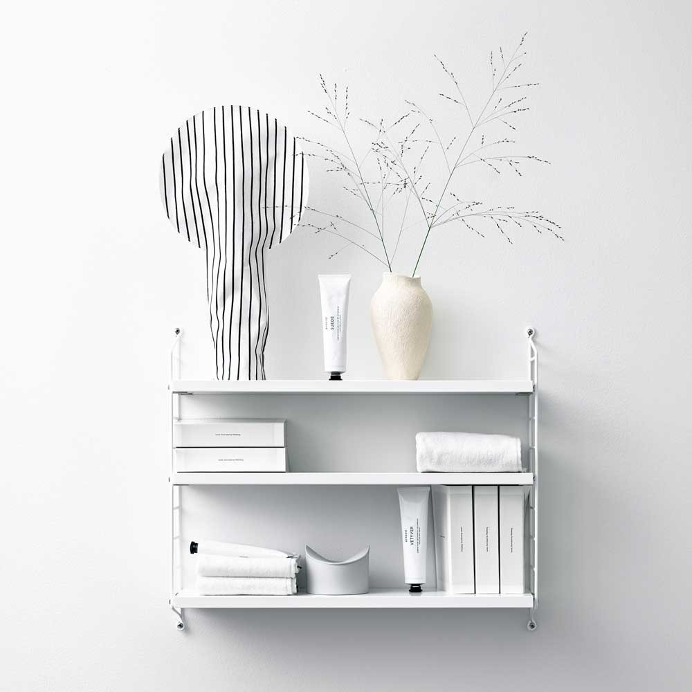 Mensola String pocket bianca String Furniture