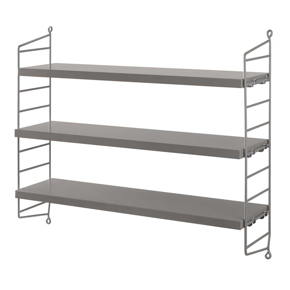 String pocket shelf grey String