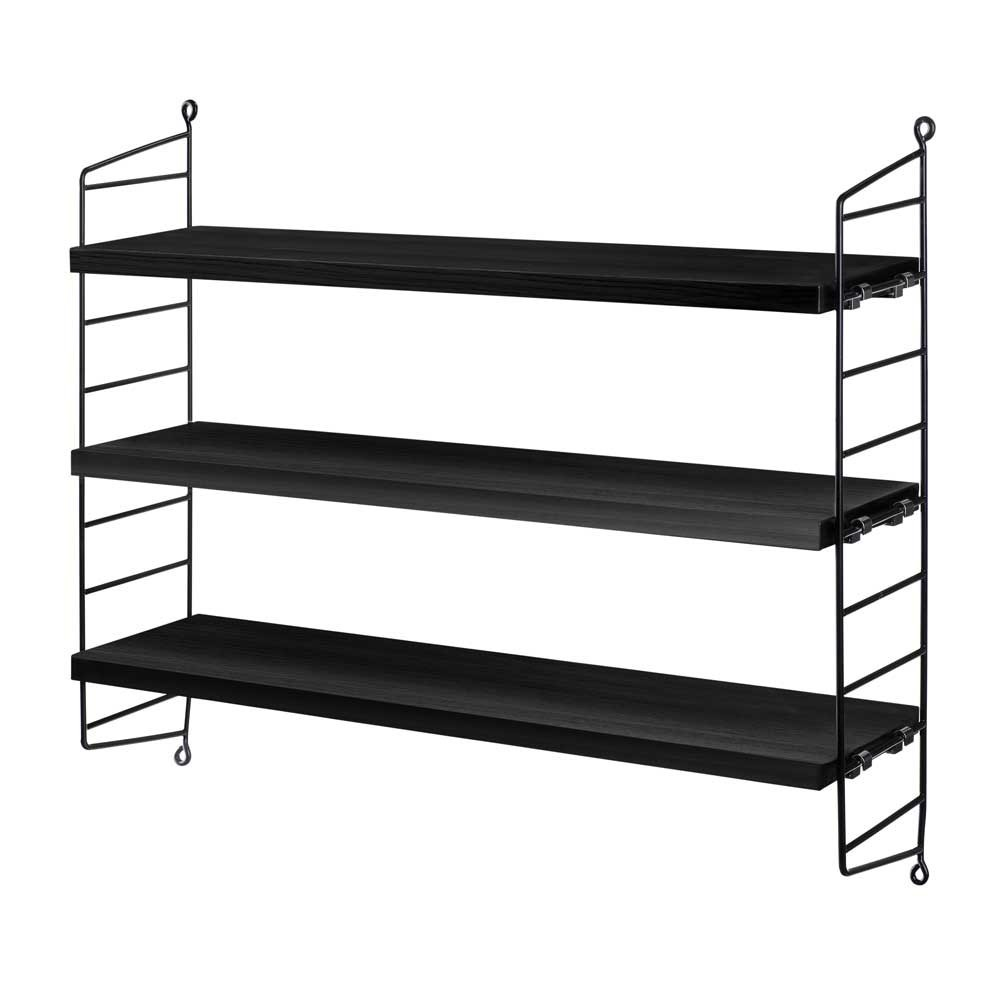 String pocket zwarte plank String Furniture