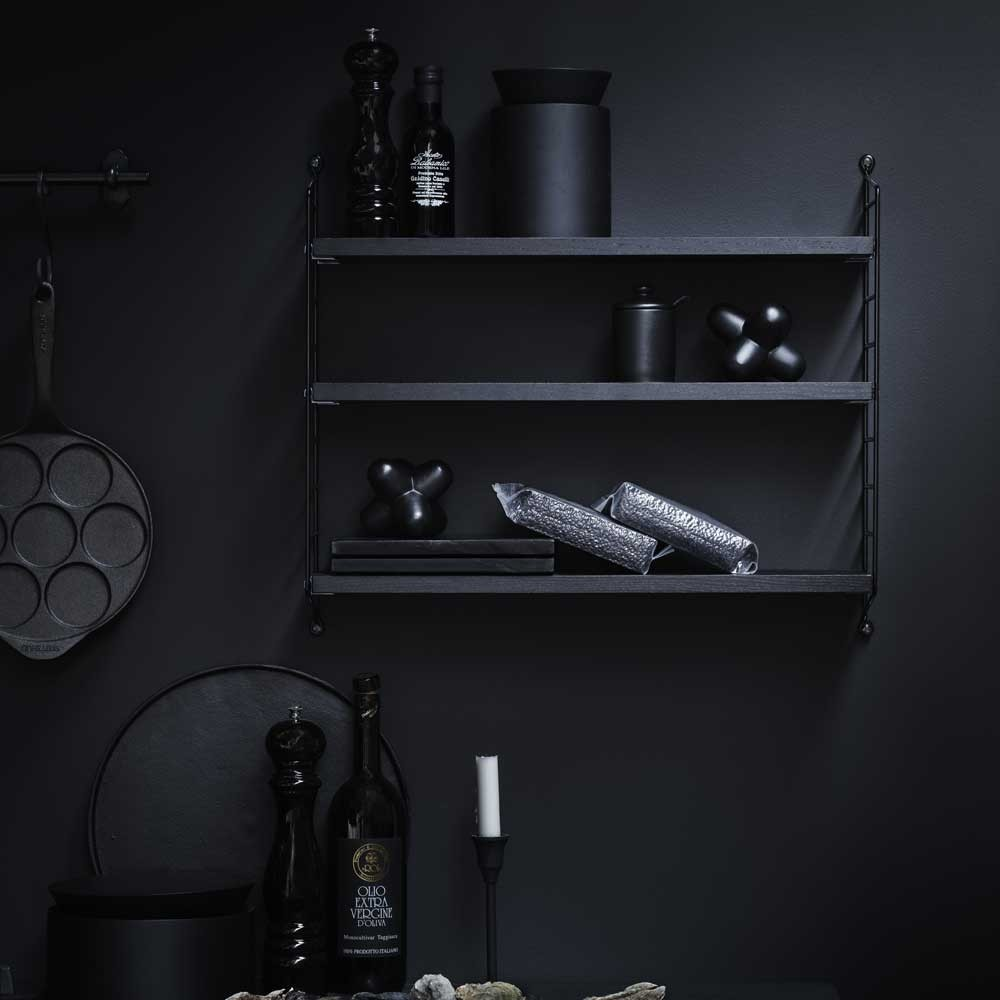 String pocket shelf black String